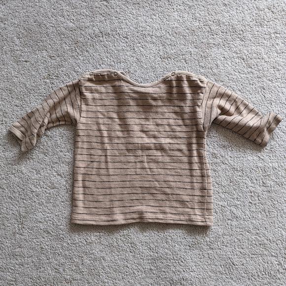 Zara stripe long sleeve shirt